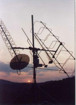 Antény OK2VMU pre satelitnú prevádzku