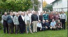 Účastníci stretnutia v Michelbachu pri Marburgu, foto AMSAT-DL, H.Straube