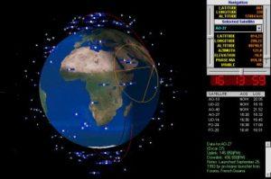 Už ste niečo také videli? Satelitné nebo. V pohybe.