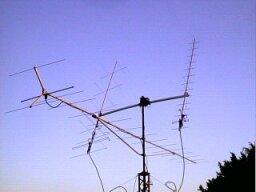 Satelitné antény v roku 2002