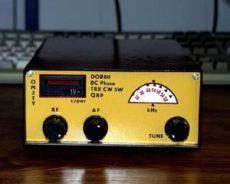 QRP CW tcvr DOB80 pre 80 m pásmo