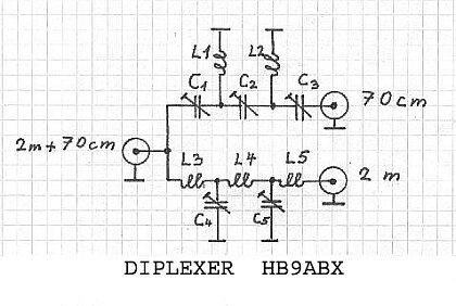 Schéma zapojenia duplexeru