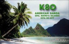 Uviaznutí v Americkej Samoe – K8T a K8O story