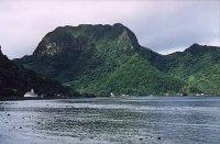 Rainmaker Mountain na ostrove Tutuila