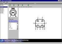 Hlavná obrazovka programu s údajmi o ECC802S