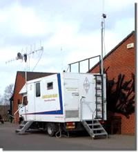 Mobilný rádiovoz GB4FUN po úpravách