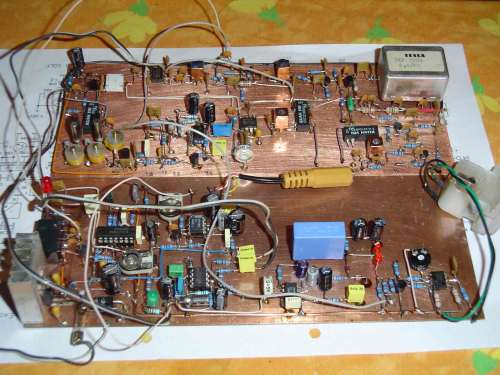Amatersky QRP transceiver