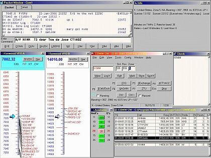 Príklad konfigurácie okien od CT1AOZ