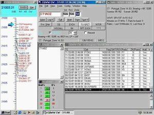 Príklad konfigurácie okien od N7OR
