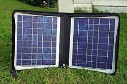 Solárny článok ku rádiostanici