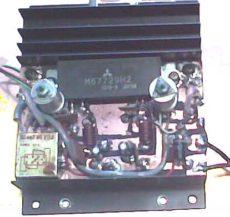 Jednoduchý PA 20W 430 – 470 MHz