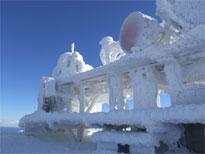 Omrznuté antény na RRS Chopok