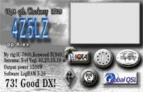 4Z5LZ Global QSL