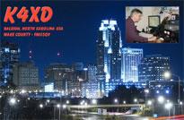 K4XD Global QSL