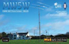 CQ WW SSB contest s MW5W
