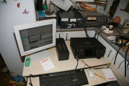 ICOM IC-756ProIII na 160m pracovisku
