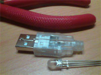 Súčiastky na USB tester