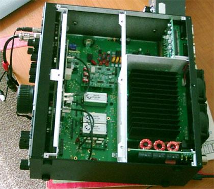 Vnútro Elecraft K3