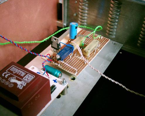 Snímač natočenia na plošnom spoji