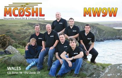 QSL lístok MW9W a MC0SHL
