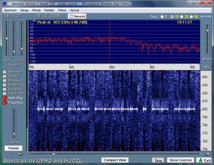 Screenshot Spectranu