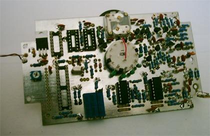Anténny analyzátor - plošný spoj