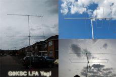 G0KSC LFA yagi – nový spôsob napájania yagi