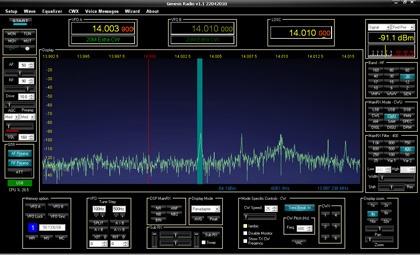 Upravený PowerSDR