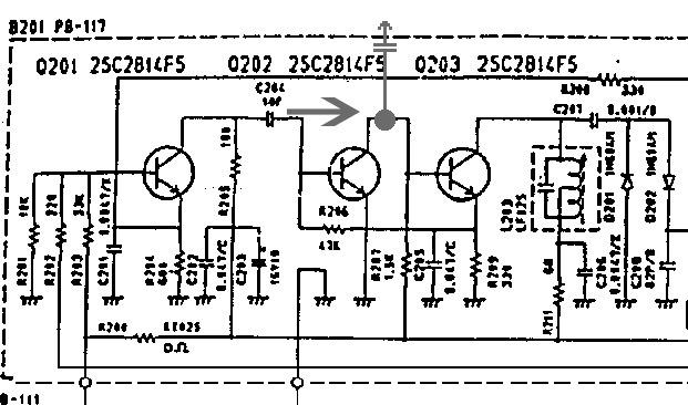 Miesto vyvedenia MF signálu
