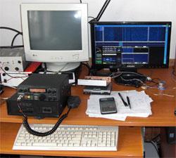 SDR ku President Lincoln rádiostanici