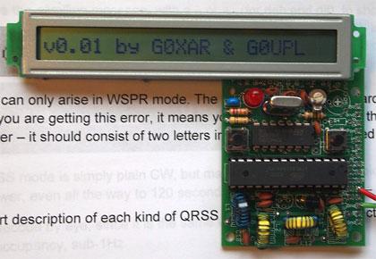 QRSS stavebnica