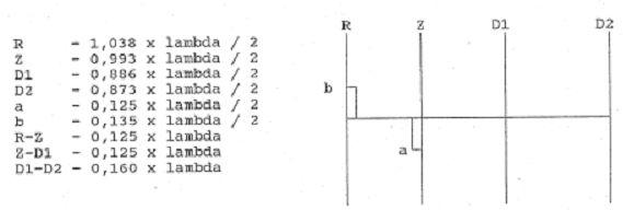 4 elemetnová HB9CV