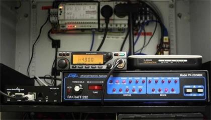 Technika APRS iGate - OM3KAP-1