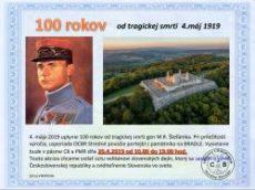 100 rokov od tragickej smrti gen M.R. Štefánika