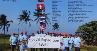 3W6C team s Michalom OM2DX