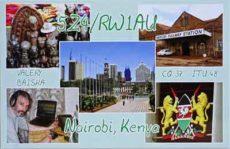 5Z4/RW1AU z Keňe