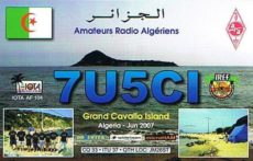 Slovensko-alžirska IOTA expedícia na ostrov Grand Cavallo (AF-104) 7U5CI