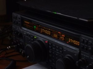 FT-1000MP predný panel