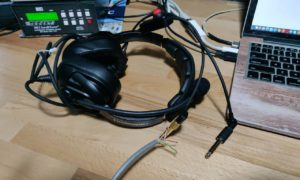 Slúchadla pri rádiostanic