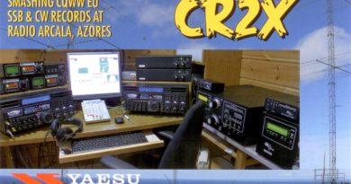 CR2X QSL lístok