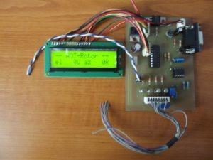 DL7AOT kontrolér satelitných antén