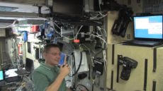 HAM radio na ISS – video