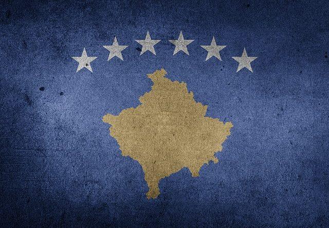Kosovo zástava