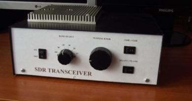 SDR TCVR na KV