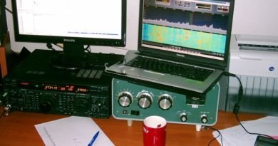 FT-1000MP s home made SDR spektroskopom
