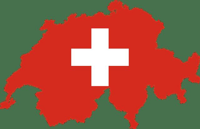 Krajina helvétskeho kríža, Švajčiarsko