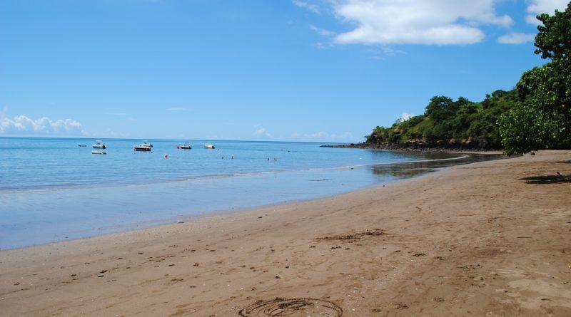 Pláž Trevani na Mayotte