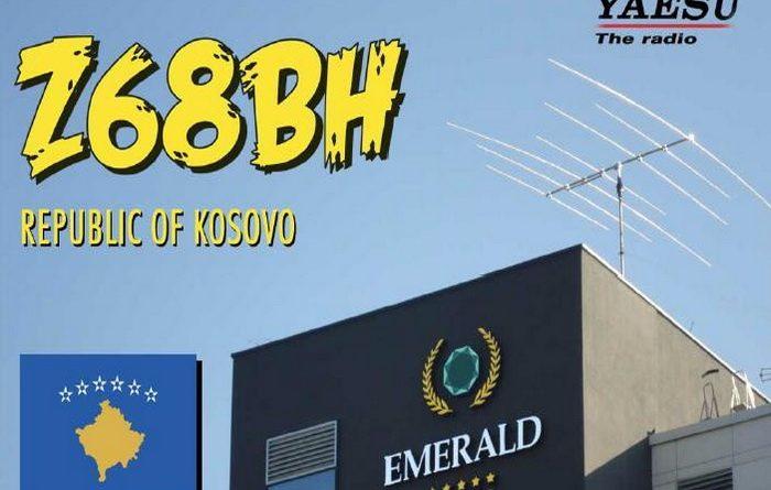 Z68BH QSL lístok