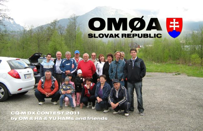 QSL lístok OM0A
