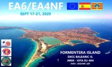 EA6/EA4NF Baleárske ostrovy cez LEO satelity